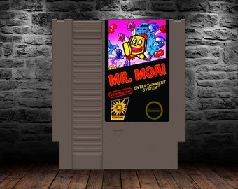 Mr Moai - English Translation - The Original Puzzle Platformer! - NES