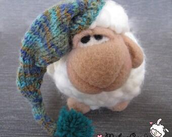 crochet sheep, amigurumi, sheep, crochet animal, häkeltiere,plushy, needle felted sheep, Home decor, nursery decor, ready to ship, gift