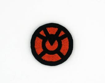 Orange Lantern Corps Patch, Agent Orange Patch, Larfleeze Patch, Orange Lantern Pin, Iron On Patch, Orange Lantern Embroidered Patch