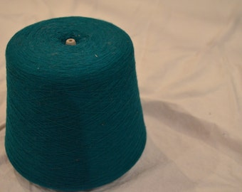 Teal 100%  Acrylic Machine Knitting Yarn Cone size 1/20