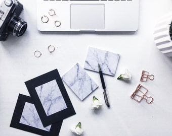 CEO NOTES | Marble Post It Notes | Sticky Notes