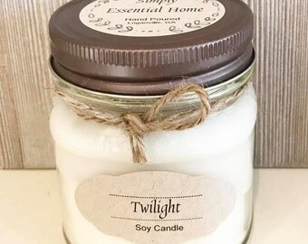 Twilight Soy Candle / Soy Candle / Aromatherapy Candle