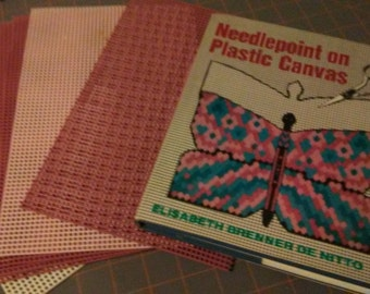 Plastic canvas pattern and instruction book
