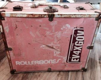 Rare Vintage Rollerbones Roller Skates Case