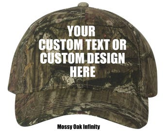 Custom Licensed Camouflage Cap