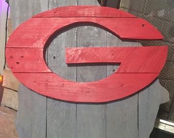 UGA pallet wood sign