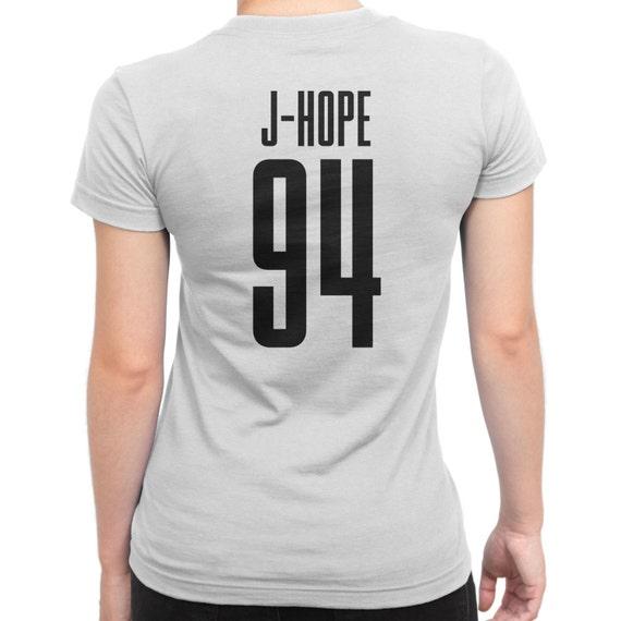 BTS J-Hope 94 Ladies T-SHIRT