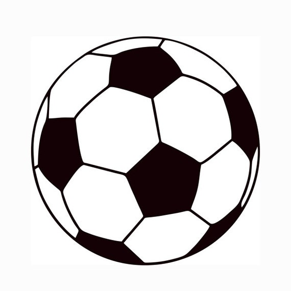 Soccer Ball Layered Svg Dxf Png Eps Logo Vector File