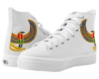 UProSquad American African Hi Top Canvas Boot