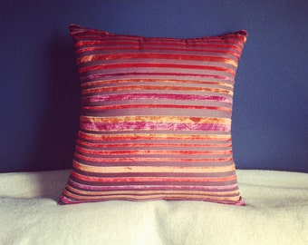 Burn Out Velvet Cushion