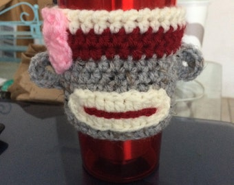 Sock Monkey Cozy