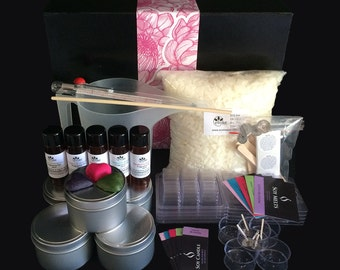 Soy Candle Making Kit with Bonus POURING JUG, Melts and Labels