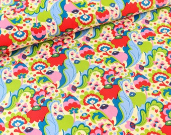 Cotton Mirabelle by Rebekah Ginda bright (11,50 EUR / meter)