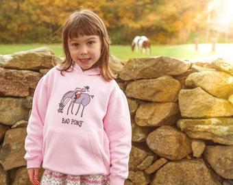 Bad Pony Clothing - Youth Grazing Hoodie