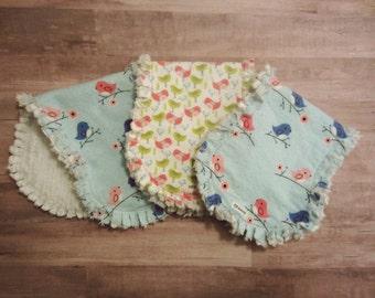 Tweet Bird Burp Cloth Set