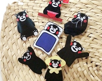 Kumamon Patch pin-Japanese mascot