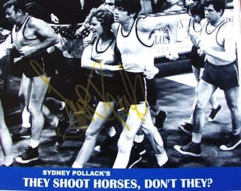 "Mint ~ 1969 JANE FONDA Authentic Autographed Photo ""They Shoot Horses, Don't They?"" FREE Shipping!"