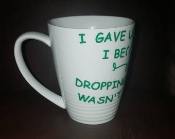 When I Became A Mom Funny Coffee Mug