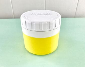 Sunshine yellow vintage Thermos