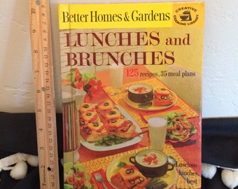 Lunches and Brunches Cookbook by Better Homes & Gardens 1963