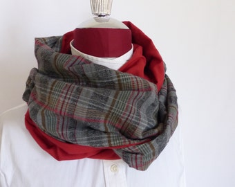 Reversible Spring Snood Scarf
