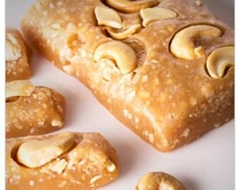 Homemade Cashew Caramels - 1/2 Pound