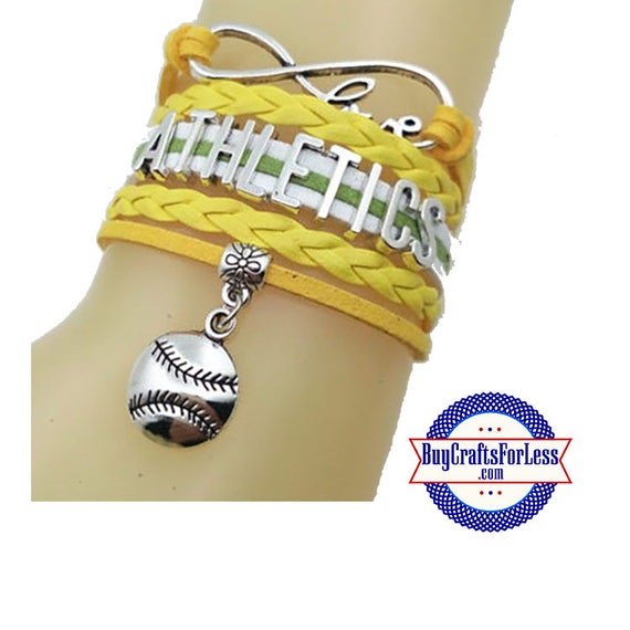 OAKLAND Leather Bracelet-U Choose CHARM +Discounts and FREE Shipping*
