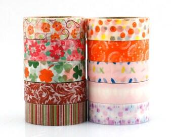 Decorative Washi Tape Set of 5