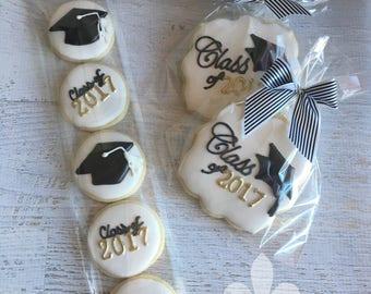 Mini Graduation 2017 Cookies