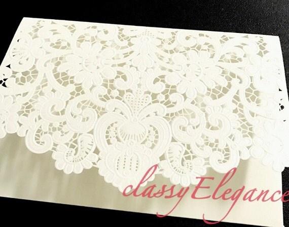 Affordable Laser Cut Wedding Invitations: Luxury/ High Quality But Affordable Wedding Invitations Laser