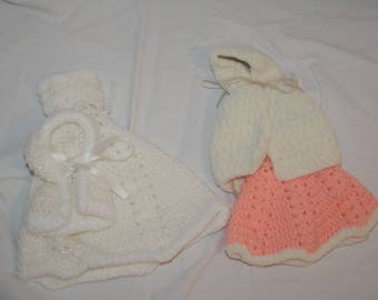 Hand Knitted Barbie Clothes / Outfits