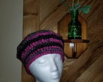 Handmade crochet Tam hat