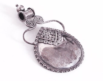 925 Sterling Silver Pendant ethnic