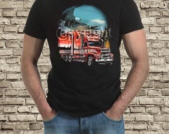 Truck eagle t-shirt