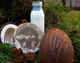 Coconut Milk & Aloe Vera Soap Bar (vegan)