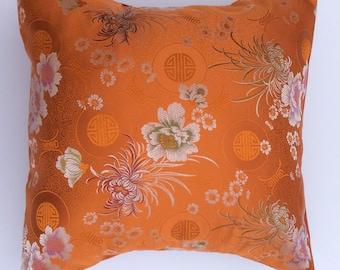 Orange Japanese pillow-toss Pillow Cover-Decor-throw pillow