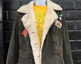 Sweet Leaf Renewal Shearling Style Jacket