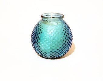 Blue Round Soy Wax Scented Candle