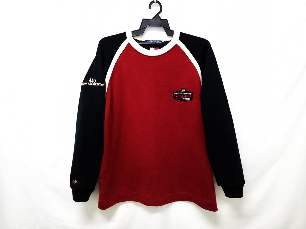 25%CRAZYSALE Vintage Tommy Hilfiger Racing Cycles Sweater