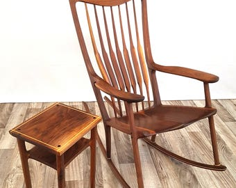 Maloof inspired rocking chair - Rocking chair-