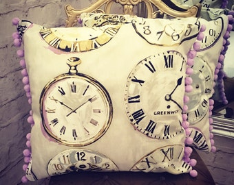 Handmade Clock Cushion Covers