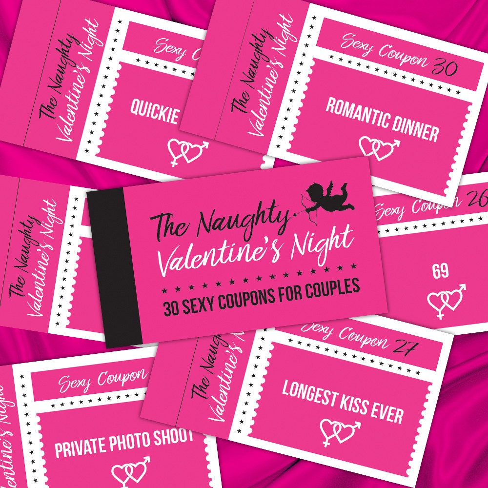 the naughty coupon booklet 30 sexy printable w gift men the naughty valentine s night 30 coupons printable w men gift sexy coupon book instant collage sheet 30 sexy kinky cards