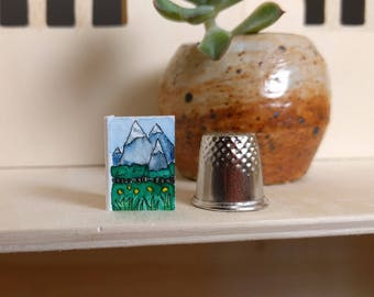 Mountains: Thimble-Sized Fairy Greeting Cards