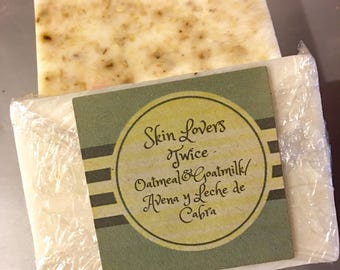 Oatmeal and Honey Natural Soap