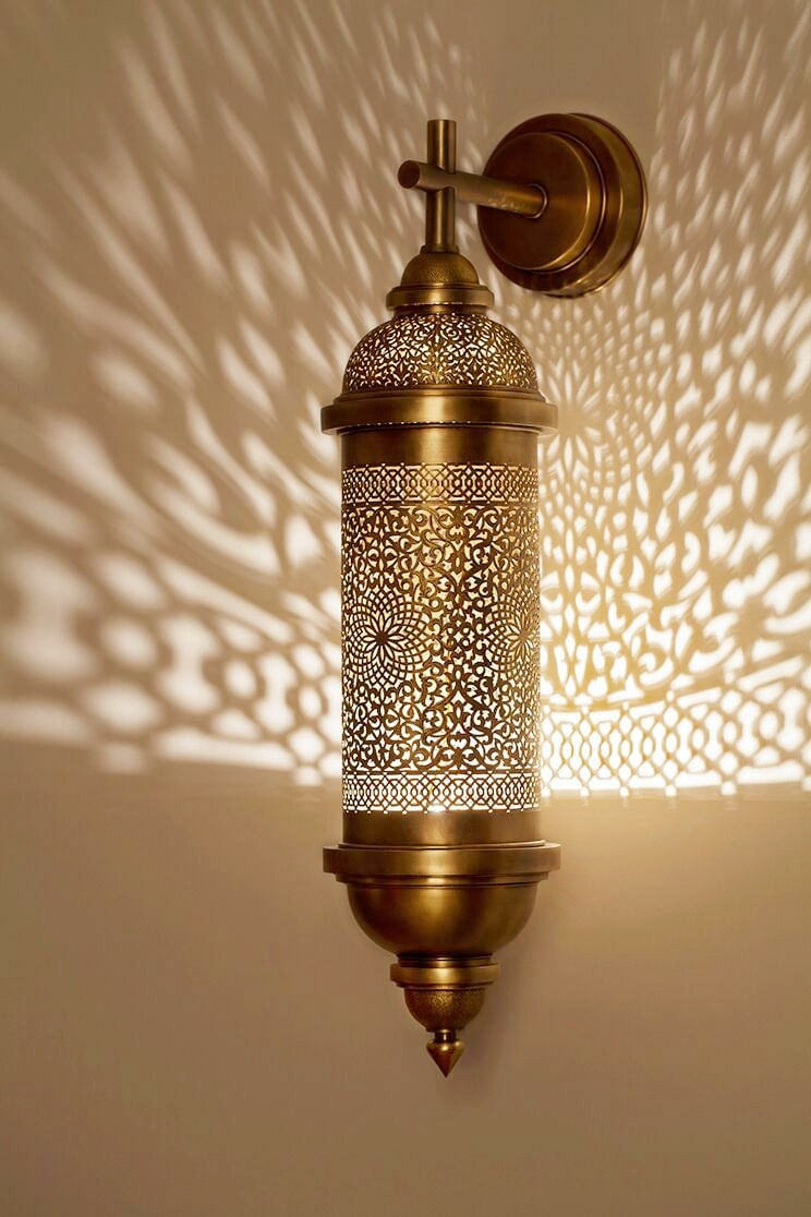 Moroccan sconce indoor wall sconce wall sconce traditionel for Lampadari maison du monde