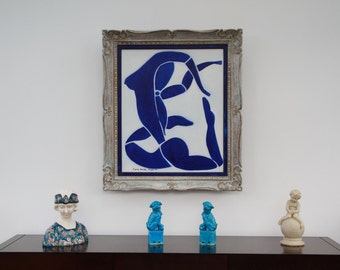 Framed canvas _ MATISSE-inspired oil painting