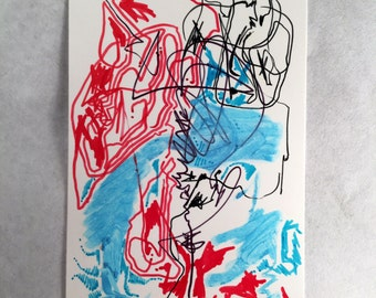 Fire and Ice *2.5in x 3.5in*
