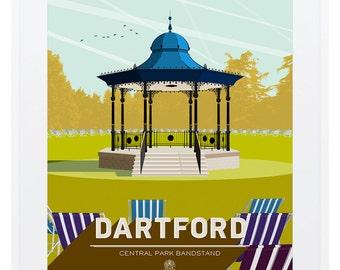 Art Deco Dartford - Central Park & Bandstand