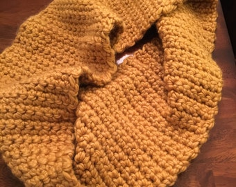 Golden Rod Infinity Scarf