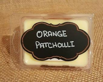 Orange Patchouli 2.5 oz. Soy Wax Melt